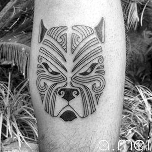 #bullytattoo #pitbulltattoo #dogtattoo #antoniomai #amaitattoo #losangeles #Tribal #Polynesian #Maori #Samoan #Geometric #DotWork #BlackWork #OldSchool #Traditional #Japanese #Irezumi #FineLine #Ornamental