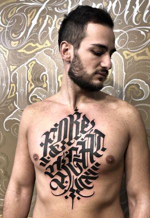 #freehand #calligraphy #blackwork #black #script #lettering #italy