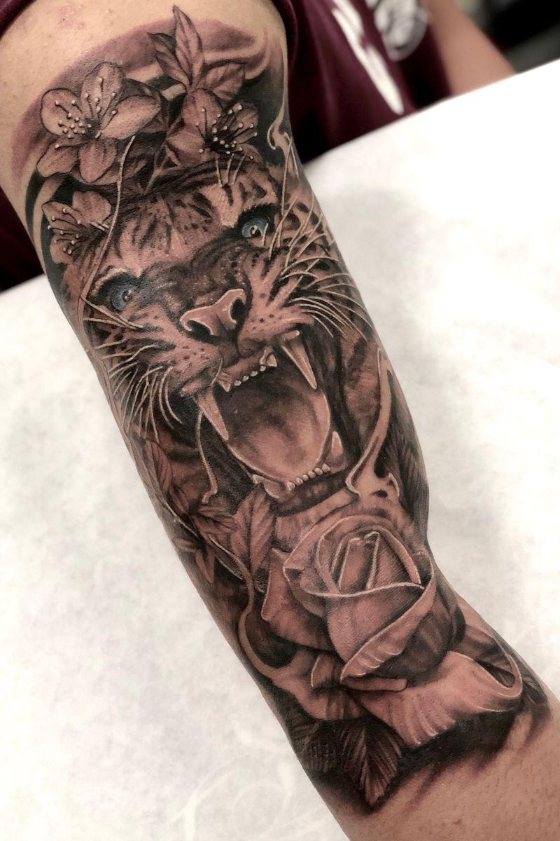 Tattoo from Justin JP Param