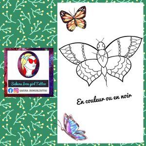 Un papillon un peu dark et un peu ornemental. ;) @sakurairongirltattoo #tattooflash #flashtattoo #magic #dark #tattoofrance #francetattoo #butterfly #papillon #graphictattoo #tattoographic #tattoocolor #tatoo #tattoos #tatouage #tatouages #tattoodo #neotradtattoo #neotraditionalfrance #neotraditionaleurope #frenchtattooflash #instapic #flash