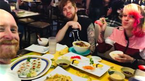 Besties and sushi!