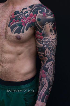 Japanese tattoo NYC. #japaneseink #japanesetattoo #irezumi