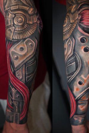 #biomechtattoo #biomech #tattoo #tattoos