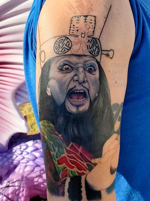 Lo Pan in progress #athensga #athenstattoo #athenstattoos #lopan Big Trouble In Little China #80s