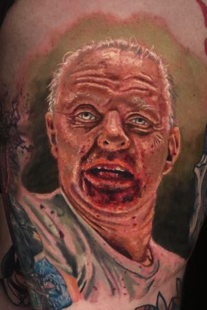 Hannibal Lecter done by #kyledevries