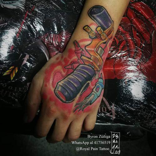 Direct driver newschool tattoo