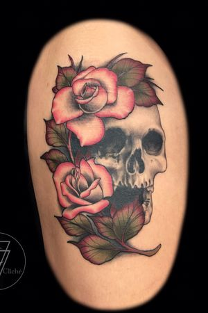 Style fusion with #neotraditional #realism elements