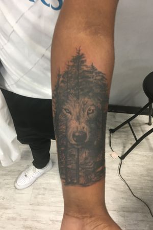 Thanks for looking. Wolf tattoo