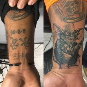 Gremlins..spike coverup I did..thanks for looking.