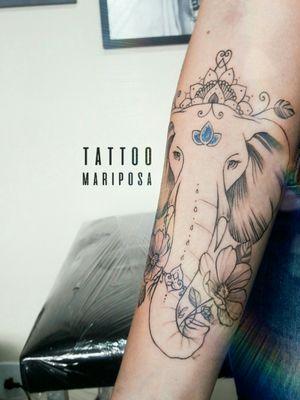 #elephanttattoo #elefantetattoo #tattoofeminina #tattoodelicada