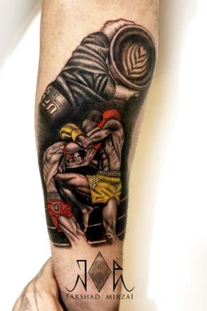 UFC lifestyle      #tattoo #Ufctattoo #Mmatattoo #mma