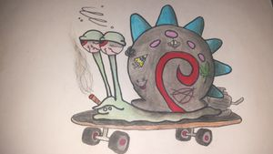 Stoner Gary The Snail By Me ✏