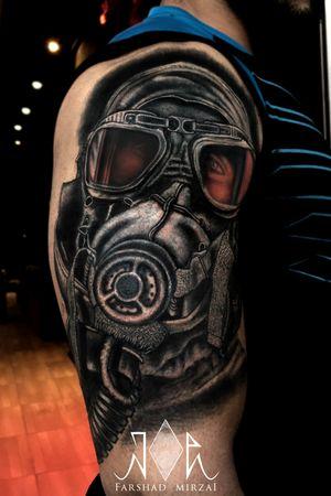 Cover Up!!! #gasmask #gasmasktattoo #Darktattoo #Tattoo