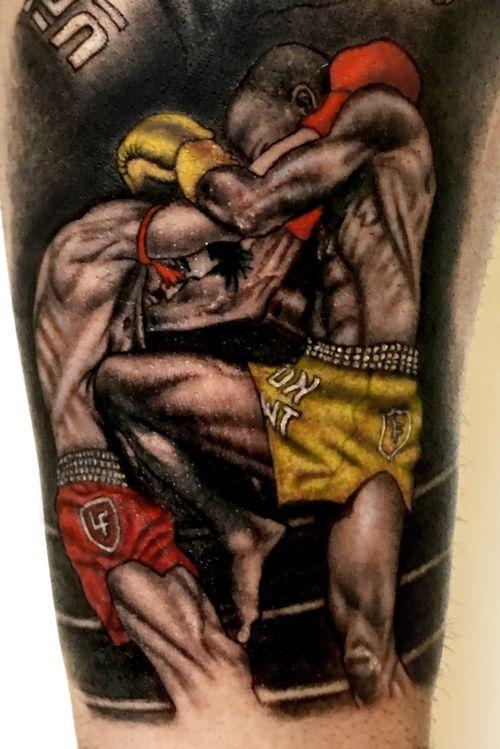 UFC lifestyle #tattoo #ufctattoo #mma #fighttattoo  #تتو