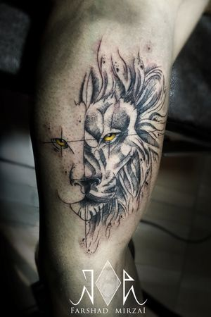 Lion Sketch! #lion #tattoosketch #Tattoo