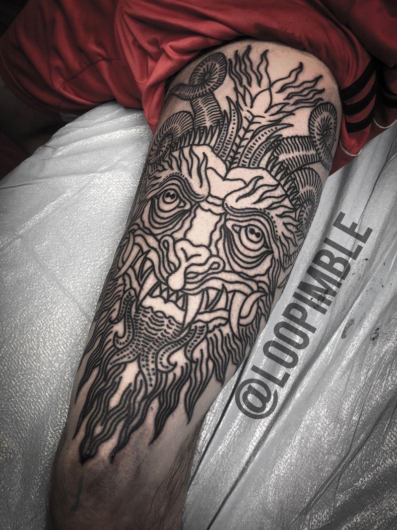 Tattoo from Loo Pimble