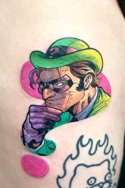 #theriddler #batman #comics #colour #geek