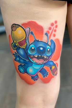 #disney #stitch #liloandstitch #colour #geek