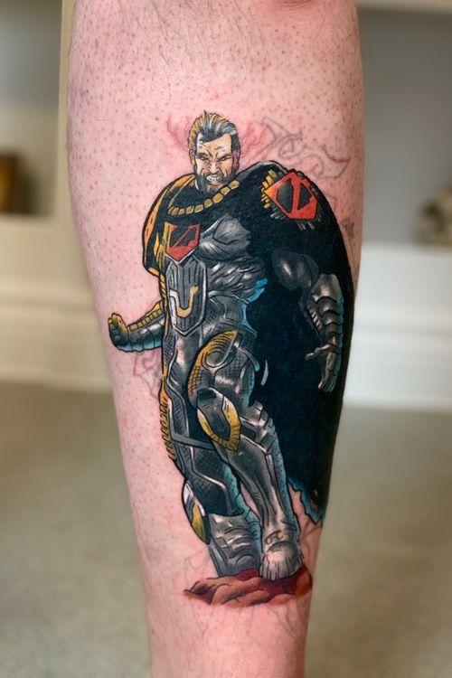 #dccomics #comictattoo #generalzod #generalzodtattoo #superman #supermantattoo #colourtattoo #geektattoo