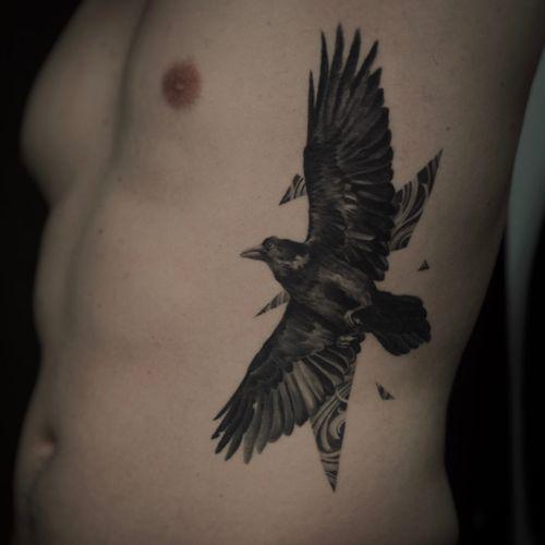 #crow#blackandgrey