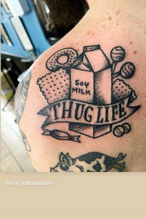 Tattoo studio Rusty Roger. Artista irui_yamabushi
