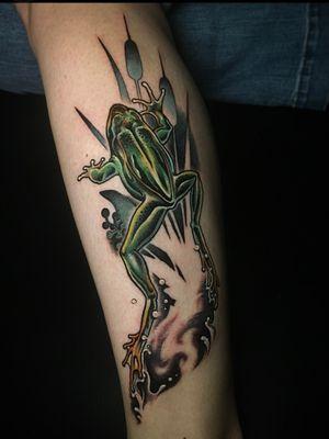 🐸 Designed & Inked for M*****! Danke! Immer wieder gern! ; Done @sticksandstonesberlin ; inquiry & booking : DM or 📧 paixletattooer@gmail.com #customtattoo #tattoo #frogtattoo #tattoodesign #tattooideas #berlintattoo #tattooberlin #berlintattooers #tattoodo #tttism #tattooartistmagazine #tattooed #inked #thinkbeforeuink #taot #neotraditinal #neotraditionaltattoo #tattooworkers #neotradstyle #neotradsub #neotradworldwide #ntgallery @tattoodo #encyclopedia #naturalism #naturalista #neukölln #colortattoo #wannado #타투 #刺青