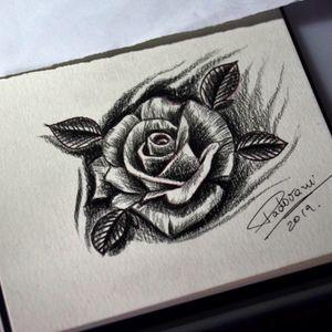 #rosetattoo #rosatattoo #thiagopadovani #blackandgraytattoo #rose #rosa
