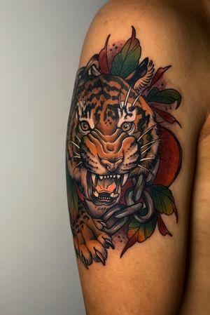 #tiger #tigertattoo #armtattoo #seoultattoo
