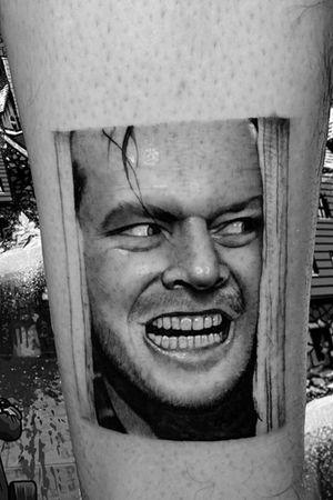 Jack Torrance #theshining #JackTorrance #tattooart #JackNicholson #elresplandor #horror #horrortattoo
