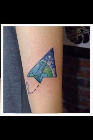 Origami can design anything as u want #tatuaje #tatuajebcn #bcn