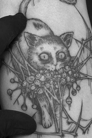 Single needle tiny tattoo