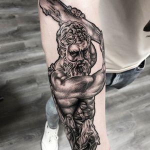 Hercules Tattoo Done by: Jannes de Groot