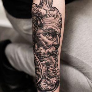 Poseidon Tattoo Done by: Jannes de Groot