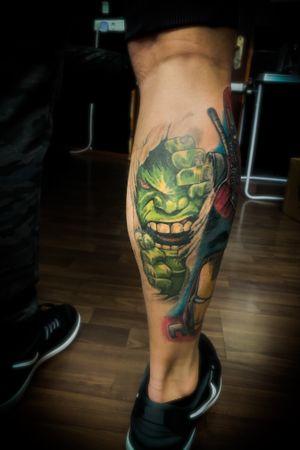 #tattoodo#hulk#hulktattoo#hulksmash#marvel#tattoo#austria#wien#tattooist#tattoos#tattooinspiration#Inked