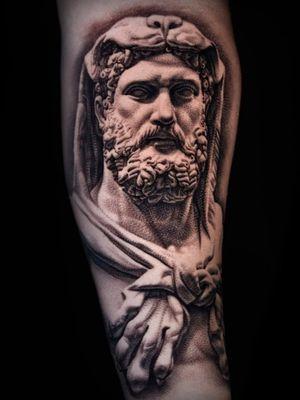 Hercules. Done while guesting at Seven Tattoo Studio Las Vegas.