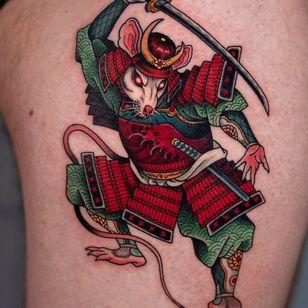 Samurai Rat.