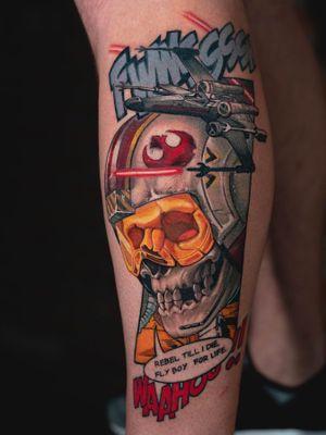 Star Wars skull.