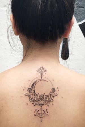 Custom lotus design done in london