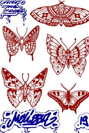 #drawing #tattoo #inked #ink #flashtattoo #tattooflash #paris #paristattoo #sketchtattoo #sketch #tatouage #perso #charactersketch #france #dessin #blackwork #black #paint #cartoon #bw #tattoo #tattoos #butterfly #papillion