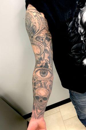 Healed sleeve