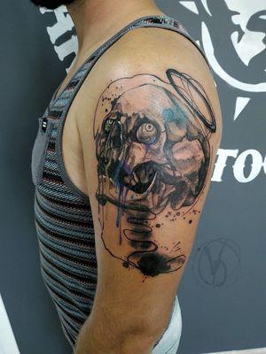 #skull #skulltattoo #victoriadenske #kyivtattoo #kievtattoo #tattooedukraine #ink #inked #graphictattoo #linework #whipshading #saint #tatt #tattoo #tattooart #tattooer #tattooed #inkstinktsubmission #tattoos #black #bodyart #instatattoo