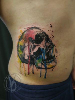 #tattoo #tattooed #tatt #tattooart #wroclawtattoo #tattooedukraine #victoriadenske #instaart #instatattoo #bodyart #tattoodo #skulltattoo #watercolortattoo #colortattoo #ink #inked #skull #wctattoos #inkstinktsubmission #linework #graphictattoo #polandtattoos