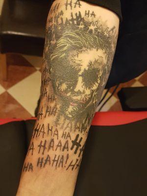#jokertattoo #Joker