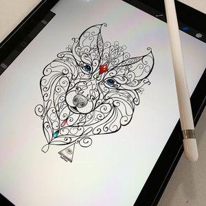Orçamentos e Informações: (11)9.9377-6985 . . . . #ericskavinsktattoo #wolftattoo #tattoolobos #ornamenttattoo #tattooornamental #delicatetattoo #tatuagemdelicada #fineline #linhafina #linework #ipad #procreate #tattoodo #alphavilletattoo #tatuagem #tattoo #centrocomercialalphaville #digitalart #artedigital