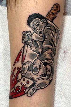 Michael Myers leg piece