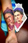Thanks Mari, for the creative freedom and letting me do my thing.  @blackatlasstudios  @cheyenne_tattooequipment  @needlejig  @saniderm • • • • • • • • #tattoo #artist #fridahkahlo #art #paint #portrait #realism #realistictattoo #colortattoo #colorportrait #chicago #chicagotattoo #NYC #newyorktattoo #queens