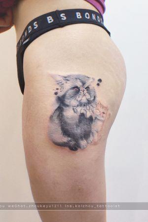 #cat #pet #cattattoo#pettattoo