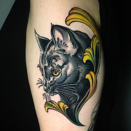 Custom work for S****, in remembrance of her beautiful tomcat ? ; Done @sticksandstonesberlin ; inquiry & booking : DM or ? paixletattooer@gmail.com #customtattoo #tattoo #cattattoo #tattoodesign #tattooideas #berlintattoo #tattooberlin #berlintattooers #