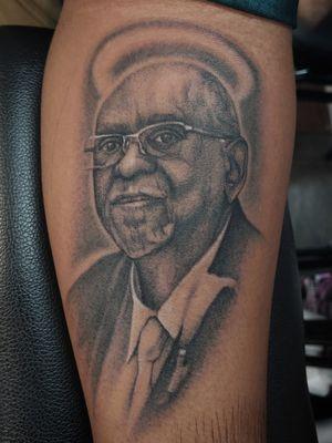 Portrait of client's grandfather