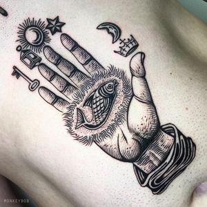Alchemy hand.